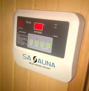 Sauna Installation Complete