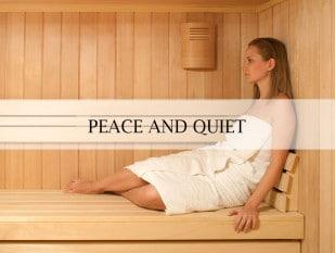 SA Sauna - Peace & Quiet