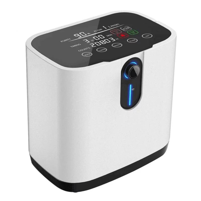 Oxygen Concentrator with Nebuliser: 1-7L